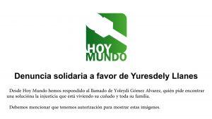 Denuncia Solidaria Yuresdely
