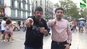 Respetuoso reportaje Rambla de Barcelona